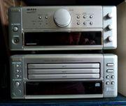 3 x audio Denon Sennheiser