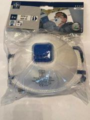 3x FFP2 Atemschutzmaske Mundschutz mit