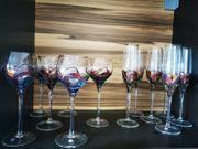 Wein und Sekt Gläser