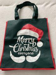 Verkaufe neuen Weihnachtsstoffbeutel