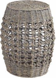 NEU Hocker aus Seegras-Geflecht Sitzhocker
