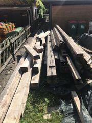 Holzbalken Altholz