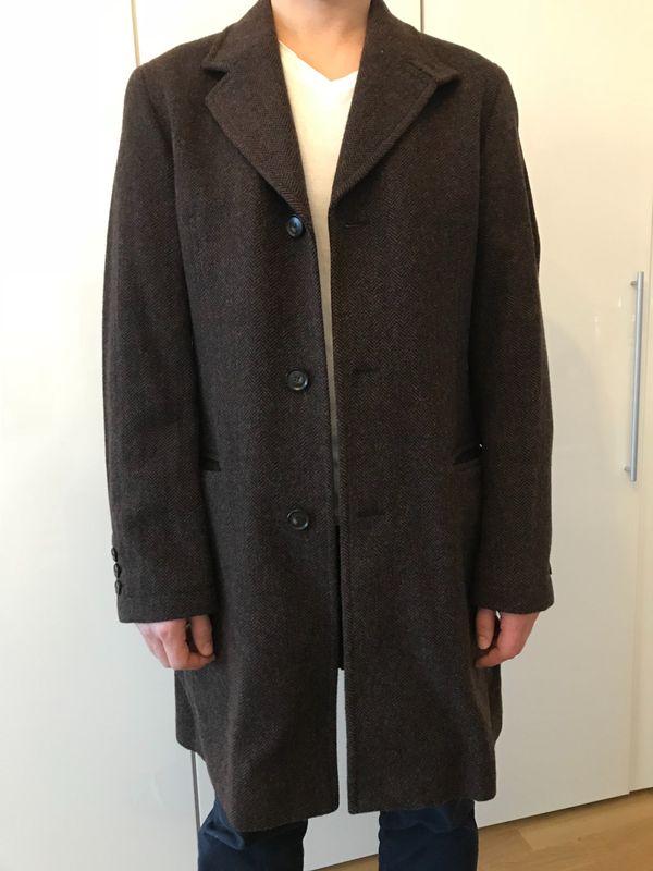 Warmer Mantel für Herren von