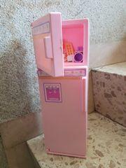 Barbie Kühlschrank mit Inhalt