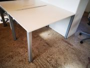 Schreibtisch weiß 120 x 80