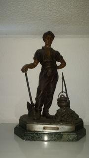 Bronze-Skulptur von Julien Causse
