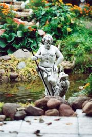 Garten Figur aus Beton - NEPTUN