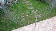 Auslaufgitter Freilaufgehege für Hasen Kaninchen