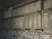 Leitern von einem alten Leiterwagen