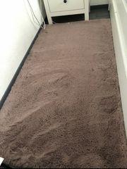 flauschiger Teppich 2 Stück in