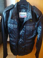 Blauer Jacke S