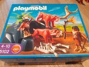 Playmobil 5102 Steinzeit Höhle Säbelzahntiger