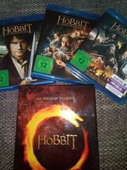 Trilogie Der Hobbit blue ray