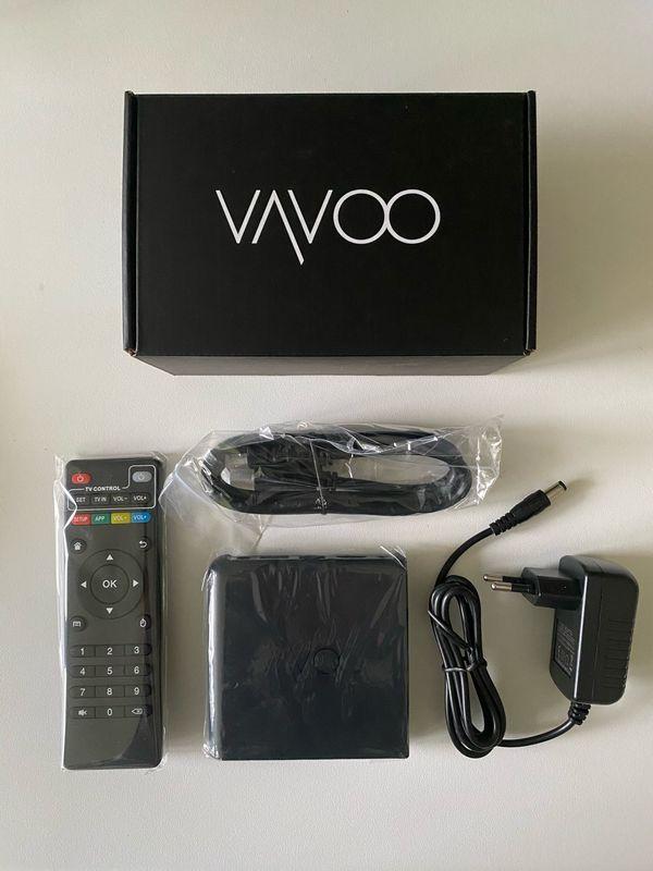 VAVOO TV BOX 4K - GUTSCHEINCODE