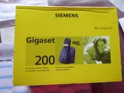 Schnurloses DECT Telefon Gigaset 200
