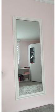 Spiegel weiß 50x160 cm