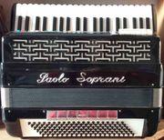 Akkordeon Paolo Soprani 5chörig mit