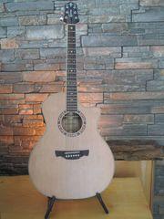 Crafter GAE-15 Natur Westerngitarre