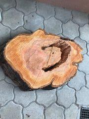 XXL-Baumscheibe DIY-Tisch Holzscheibe Kirschbaum Holz