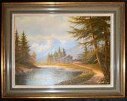 Landschafts-Gemälde