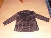 Bluse von Gina Laura braun-schwarz