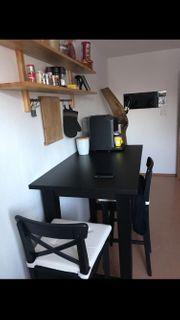 Ikea Bartisch mit zwei Stühlen