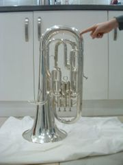 besson boosey hawkes euphonium - silver