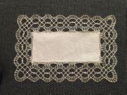 Original Klöppeldeckchen rechteckig 30x22