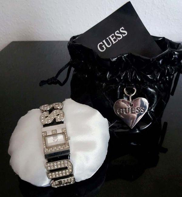 Top original Guess & Timex 2 tolle Damen Armbanduhren in