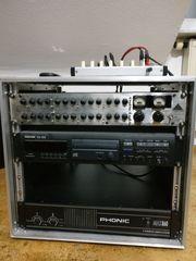 Stereoanlage Mischpult Endstufe parametr Equalizer