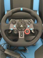 Gaming-Rad Logitec g29 Konsole PC