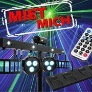 Lichtanlage mieten Lichteffekte leihen Party