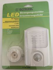ISOTRONIC LED-Orientierungslicht mit Bewegungssensor