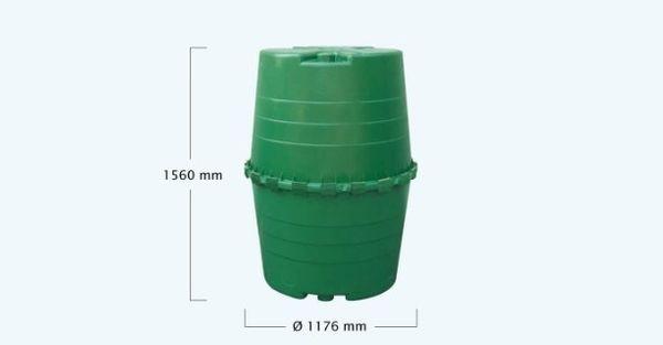 Regenwasser Tank 1300l