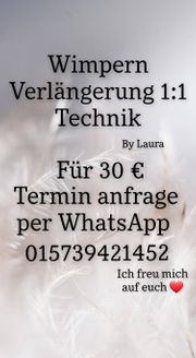 Wimpern Verlängerung 1 1 Technik