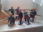 Soldaten im Gefecht