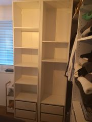 2x Ikea Pax Regale 50x35x236