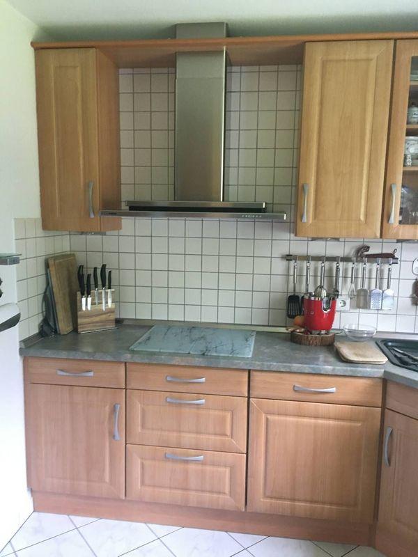"""Exquisite WELLMANN Küche \""""Teano Kirsche\"""" hochwertig verarbeitet + E-Geräte abgebaut"""