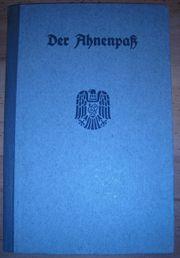 Ahnenpaß Siegel Hämmelmann aus Unterlauter
