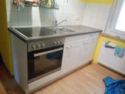 Single Küche mit Elektroherd und