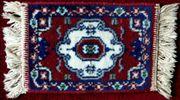 Kleiner dekorativer Läufer Teppich