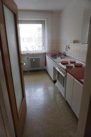 Küchen-Zeile mit Waschtisch in Edelstahl