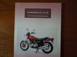 Kawasaki Z1 Buch, neu