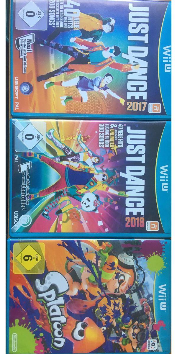 Wii U Splatoon Just Dance
