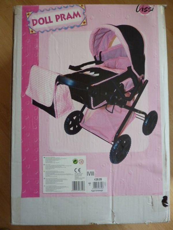 Puppenwagen Kinderpuppenwagen Spielzeug Kinderwagen neu