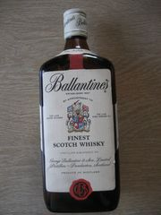 Ballentines FInest Scotch Wiskey Established