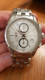 Uhr Armbanduhr Hamilton Jazzmaster Chrono