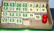 Lern ABC- Buchstaben-Tafeln aus Holz