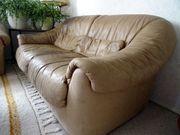 Couch Sofa - Echtleder