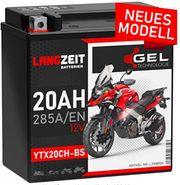 LANGZEIT YTX20CH-BS GEL Motorradbatterie 12V